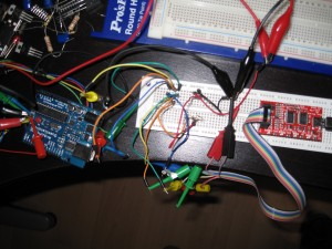 Buspirate & arduino duemilanove. SPI connection
